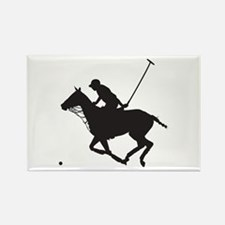 Polo Pony Silhouette Rectangle Magnet