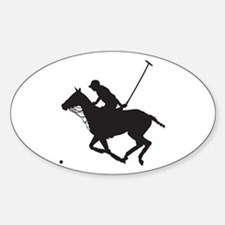 Polo Pony Silhouette Decal
