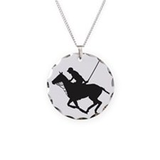 Polo Pony Silhouette Necklace