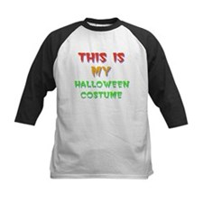 Halloween Costume Baseball Jersey