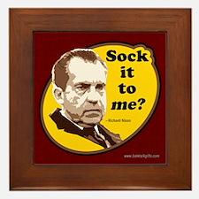 Sock it to me... Framed Tile