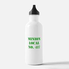 Minion Local No. 417 Water Bottle