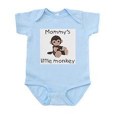 Mommy's little monkey (brown) Infant Bodysuit