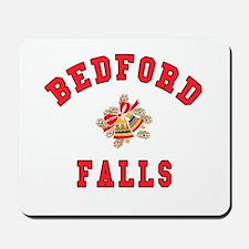 Bedford Falls w Christmas Bells Mousepad