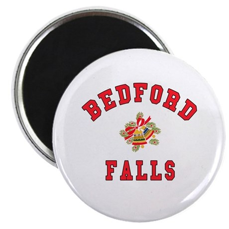 Bedford Falls w Christmas Bells Magnet