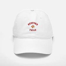 Bedford Falls w Christmas Bells Baseball Baseball Cap