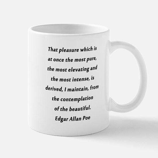 Poe On Pleasure Mug