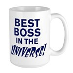 BEST BOSS IN THE UNIVERSE! Large Mug