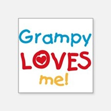 Grampy Loves Me Sticker