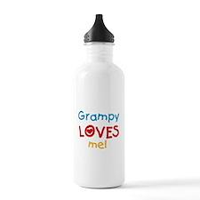 Grampy Loves Me Water Bottle