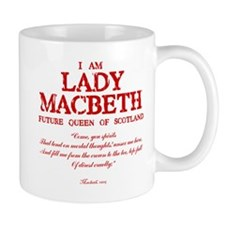 Lady Macbeth (red) Mug