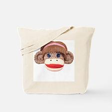 Sock Monkey Cherry Tote Bag