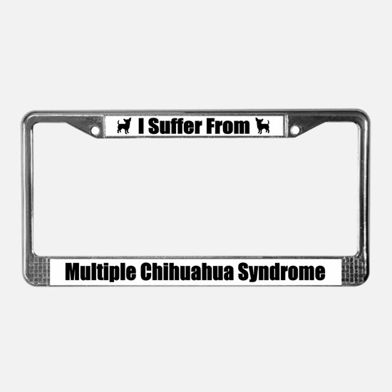 Chihuahua License Plate Frame