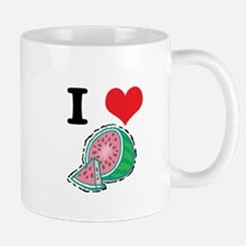 I Heart (Love) Watermelon Mug