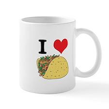 I Heart (Love) Tacos Mug