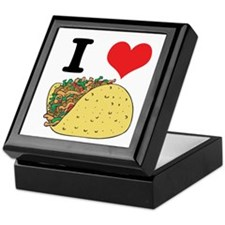 I Heart (Love) Tacos Keepsake Box