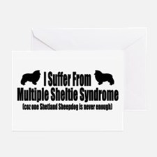 Shetland Sheepdog Greeting Cards (Pk of 10)
