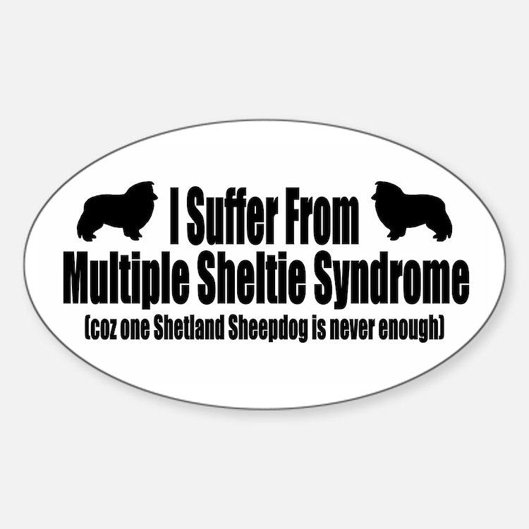 Shetland Sheepdog Decal