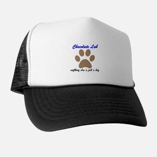 Just A Dog Chocolate Lab Hat