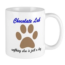 Just A Dog Chocolate Lab Small Mug