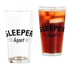 Sleeper Agent Drinking Glass