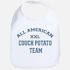AA Couch Potato Team Bib