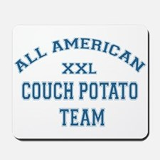 AA Couch Potato Team Mousepad