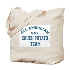 AA Couch Potato Team Tote Bag