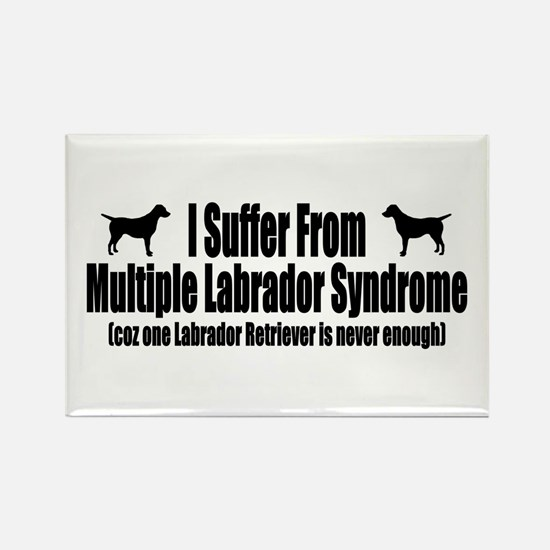 Labrador Retriever Rectangle Magnet