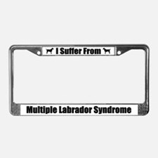 Labrador Retriever License Plate Frame