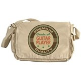 Guitar player vintage Messenger Bag