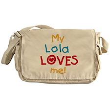 My Lola Loves Me Messenger Bag
