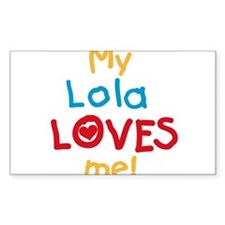 My Lola Loves Me Decal