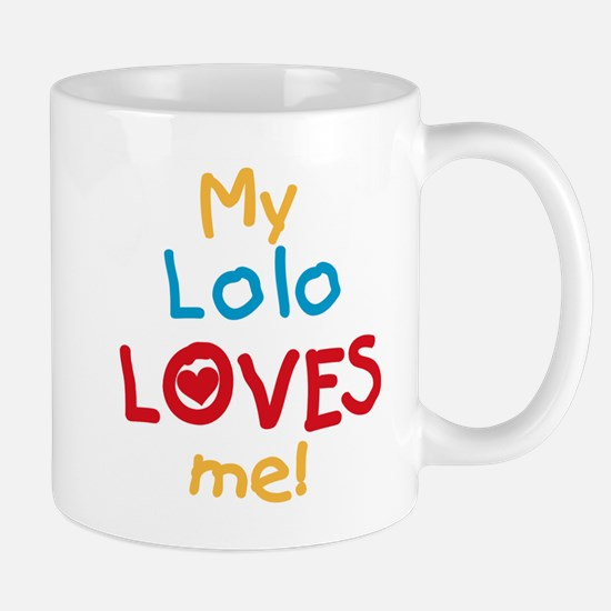 My Lolo Loves Me Mug