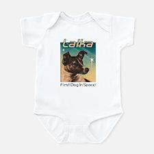 LAIKA Cosmonaut dog! Infant Bodysuit
