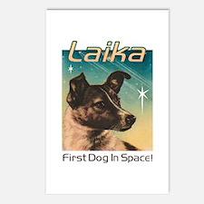 LAIKA Cosmonaut dog! Postcards (Package of 8)