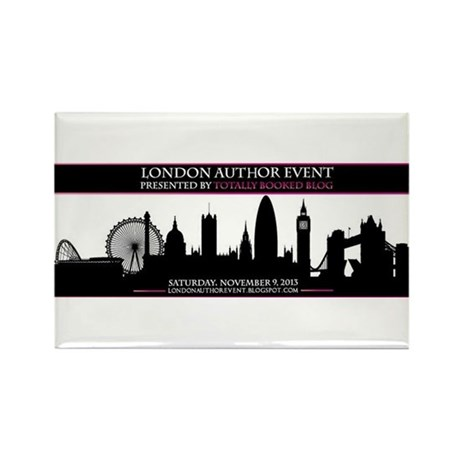 TotallyBooked London Author Event Nov 2013 Magnets