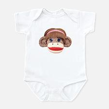 Sock Monkey Cherry Infant Bodysuit