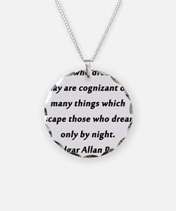 Poe On Daydreaming Necklace