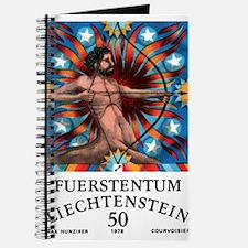 1978 Liechtenstein Sagittarius Zodiac Stamp Journa