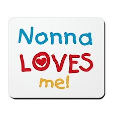 Nonna Loves Me Mousepad