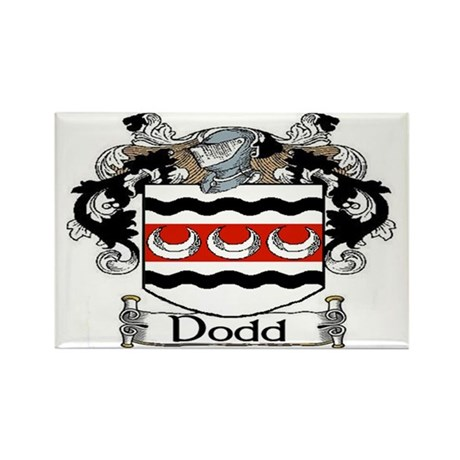Dodd Coat of Arms Rectangle Magnet (10 pack)