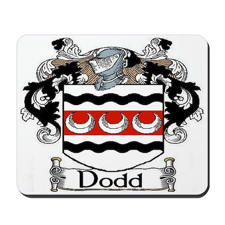 Dodd Coat of Arms Mousepad