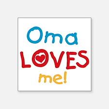 Oma Loves Me Sticker