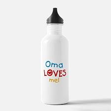Oma Loves Me Water Bottle