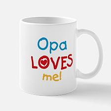 Opa Loves Me Mug