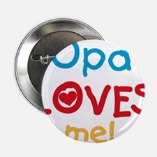 """Opa Loves Me 2.25"""" Button"""