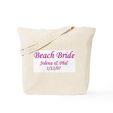 Personalized Beach Bride - Jo Tote Bag
