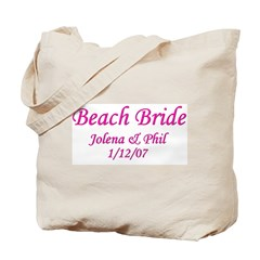 Personalized Beach Bride - Jo Tote Bag