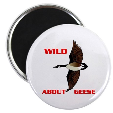 WILD ABOUT GEESE Magnet